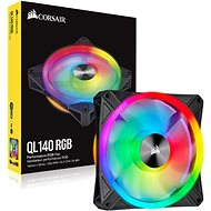 Corsair iCUE QL140 RGB 140 mm PWM Single - Ventilátor do PC
