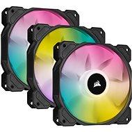 Corsair iCUE SP120 RGB ELITE Triple Pack Black + Lightning Node Core - Ventilátor do PC