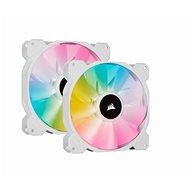 Corsair iCUE SP140 RGB ELITE Dual Pack White + Lightning Node Core