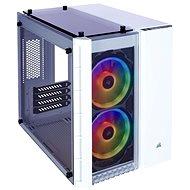 Corsair Crystal Series 280X RGB Tempered Glass biela - Počítačová skriňa