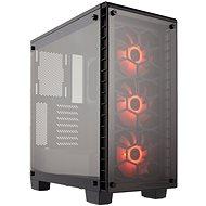 Corsair Crystal Series 460X RGB Tepmpered Glass - Počítačová skriňa