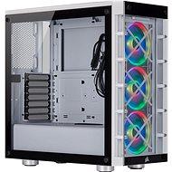 Corsair iCUE 465X RGB Tempered Glass biela - PC skrinka