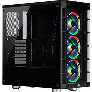 Corsair iCUE 465X RGB Tempered Glass čierna - PC skrinka