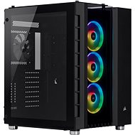 Corsair Crystal Series 680X Tempered Glass RGB čierna