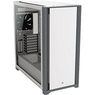 Corsair 5000D Tempered Glass White - PC skrinka