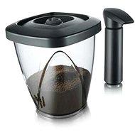 VacuVin Súprava vákuovej dózy na kávu 1,34 l/500 g a vákuovej pumpy - Vákuovačka