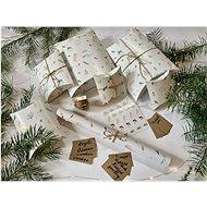Be Nice Poetická vianočná baliaca sada - Darčekový baliaci papier