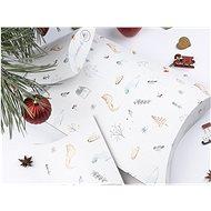 Be Nice Poetické vianočné krabičky na balenie (3 ks)
