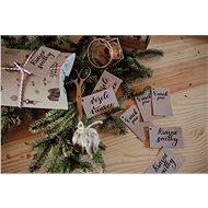 Be Nice Vianočné menovky (10 ks) - Balenie darčekov