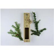 Be Nice prírodná krabica na víno – Krásne sviatky - Balenie darčekov