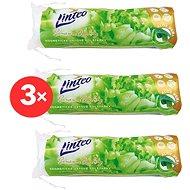 LINTEO Premium Aloe Vera 3× 80 ks - Odličovacie tampóny