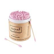 JOSHI Bamboo Pink (200 ks) - Vatové tyčinky