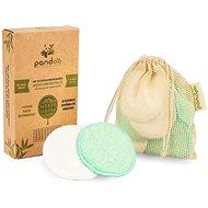 Odličovacie tampóny PANDOO Bambusové prateľné odličovacie tampóny 10 ks - Odličovací tampony