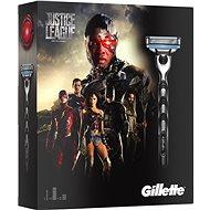 GILLETTE Mach3 JUSTICE LEAGUE – Cyborg kazeta - Darčeková súprava