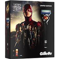 GILLETTE Fusion Proglide Flexball JUSTICE LEAGUE Flash kazeta - Darčeková súprava