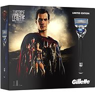 GILLETTE Fusion Proshield JUSTICE LEAGUE Superman kazeta - Darčeková súprava