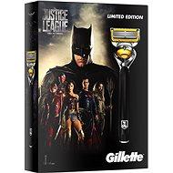 GILLETTE Fusion Proshield JUSTICE LEAGUE Batman kazeta - Darčeková súprava