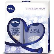 NIVEA Body Smooth dárkové balení pro hedvábně jemnou pokožku - Darčeková súprava