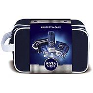 NIVEA Men Protect darčeková taška s preverenou starostlivosťou na holenie - Darčeková súprava