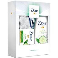 DOVE Revitalising vianočná darčeková kazeta so špongiou pre ženy - Darčeková kozmetická súprava