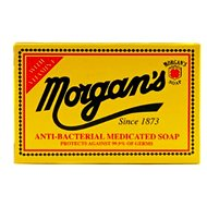 MORGAN'S Anti-Bacterial Medicated 80 g - Tuhé mydlo