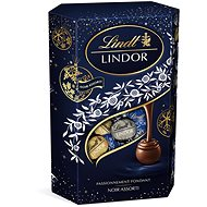 LINDT Lindor Koule pralinky Noir Assorti Dark Blue 337 g - Čokoláda