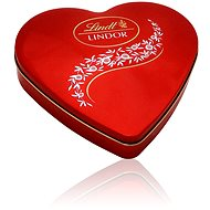 LINDT Lindor Tin Milk Red 212 g - Bonboniéra
