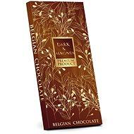 SELLLOT Belgická hořká čokoláda 50% s mandlemi - hnědá