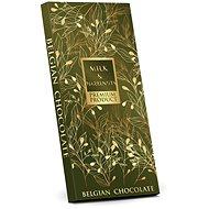 SELLLOT Belgická mléčná čokoláda s lískovými ořechy - zelená