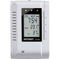 VOLTCRAFT CO-100 Měřič oxidu uhličitého (CO2) 0 - 3000 ppm s funkcí datového záznamníku - Merač kvality vzduchu