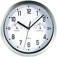 MEBUS 06992 Nástenné hodiny s teplomerom a vlhkomerom - Nástenné hodiny