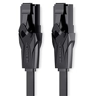 Vention Flat CAT6 UTP Patch Cord Cable 8 m Black - Sieťový kábel