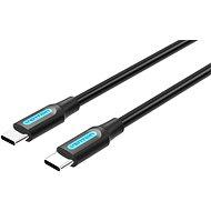Dátový kábel Vention Type-C (USB-C) 2.0 Male to USB-C Male Cable 1.5M Black PVC Type