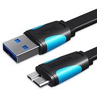Dátový kábel Vention USB 3.0 (M) to Micro USB-B (M) 0,25 m Black