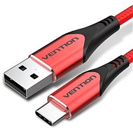 Vention Type-C (USB-C) <-> USB 2.0 Cable 3A Red 1,5 m Aluminum Alloy Type - Dátový kábel