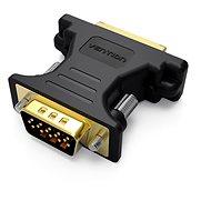 Vention DVI Female to VGA Male Adapter Black - Redukcia
