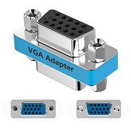 Vention VGA Female to Female Adapter Silvery Metal Type - Cable Connector
