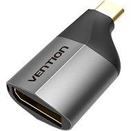 Vention Type-C (USB-C) to DisplayPort (DP) Adapter Gray Metal Type - Redukcia