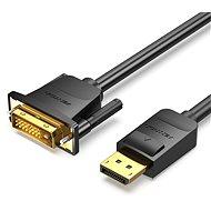 Vention DisplayPort (DP) to DVI Cable 1,5 m Black - Video kábel