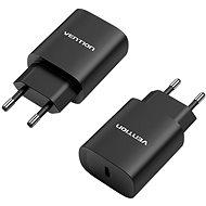 Nabíjačka do siete Vention USB-C Wall Charger 20 W Black