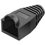 Vention RJ45 Strain Relief Boots Black PVC Style 100 Pack - Kryt konektora
