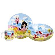 BANQUET Detská 3-dielna súprava Little Princes A11675 - Detská jedálenská súprava