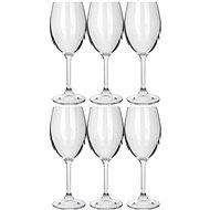 BANQUET Sada pohárov 6 ks Leona Crystal biele víno 230 ml A11304 - Sada pohárov