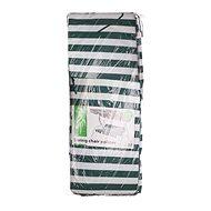 HAPPY GREEN Poduška na hojdačku, zelený pruh - Poduška