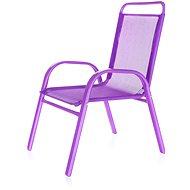 HAPPY GREEN Stolička detská fialová - Záhradná stolička