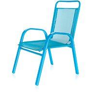 HAPPY GREEN Stolička detská modrá - Záhradná stolička