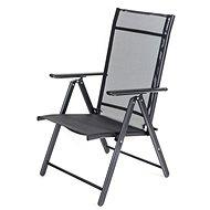 ee050d42172fd HAPPY GREEN Záhradná stolička polohovateľná RAMONA, antracite