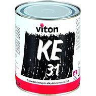 VITON – KE 31/RAL 9005 – čierna, POLOMAT, 3,5 kg, samozákladujúca alkyduretán 3 v 1 na fe/zn/al/drevo - Maliarska farba