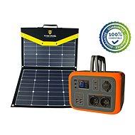 Viking Set bateriový generátor VIKING AC600 a solární panel VIKING L110 - oranžová - Set