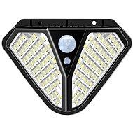 Viking - Vonkajšie solárne LEDkové svetlo s pohybovým senzorom VIKING Z102 - Vonkajšie svetlo